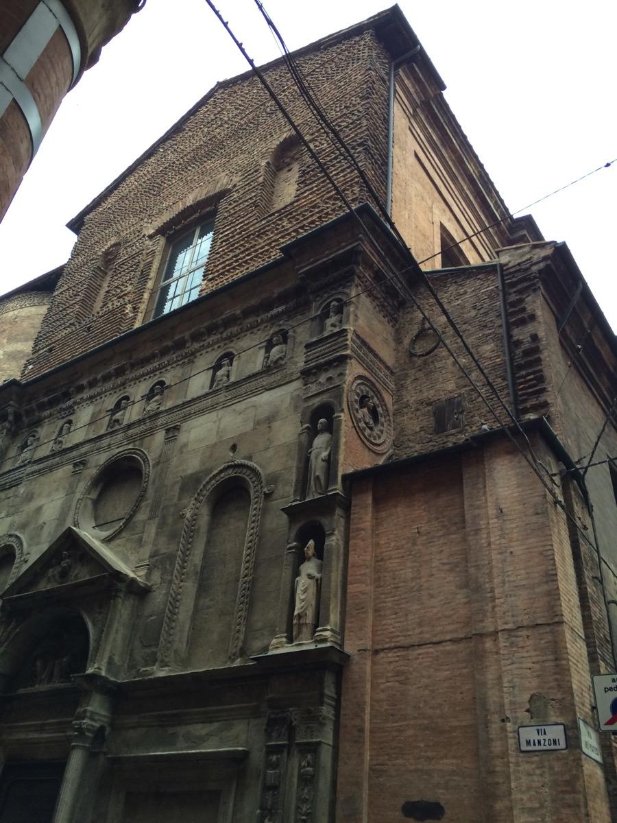 ボローニャ、2日目、マドンナ・ディ・ガッリエーラ教会 | Arts and ...